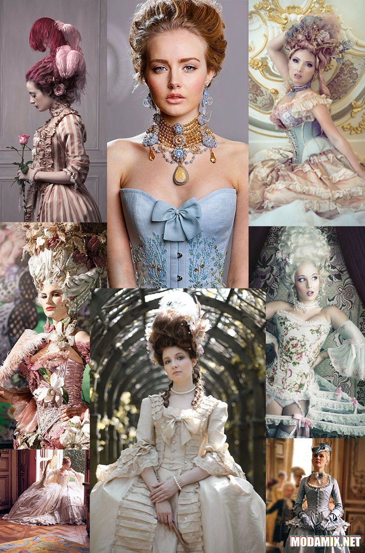 26a76140995 Γυναικεία φορέματα και κορσέδες σε ροκοκό στιλ