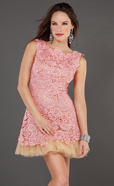 1b2d9c490644 Μπλε φόρεμα κοντό με πλήρη φούστα. Πώς να επιλέξετε ένα μικρό φόρεμα ...