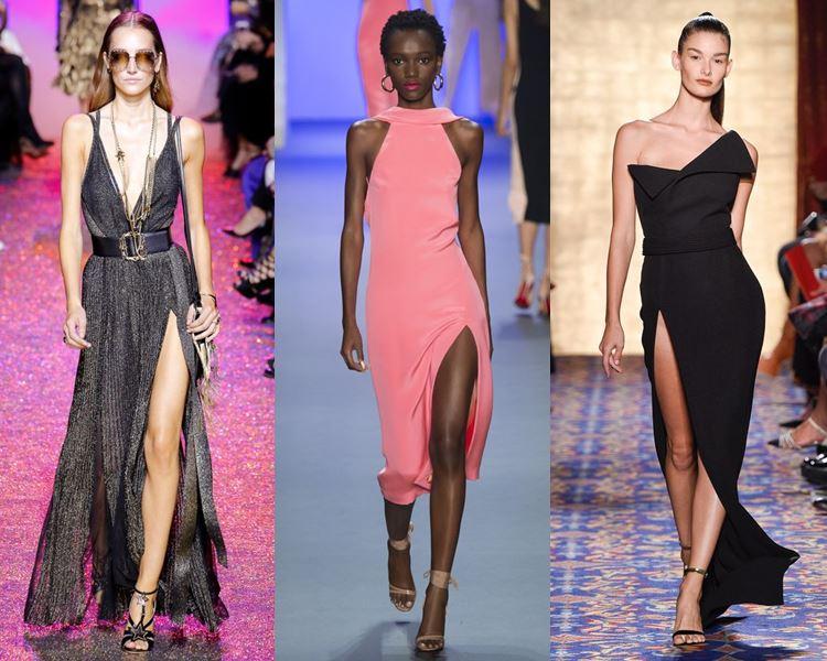a1ff0d59c653 ... να επιμένουν ότι τα φορέματα με μεγάλη σχισμή είναι μια καυτή τάση για  το βράδυ. Η υψηλή σχισμή θα αποτελέσει το επίκεντρο τόσο για τα  μινιμαλιστικά όσο ...