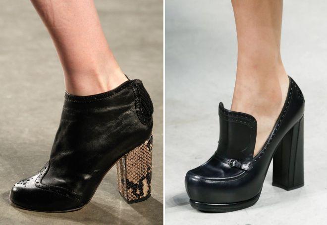 48619048fd042 ... أو الأسود مع حذاء متناقض. أحذية الكاحل كعب 2017 تختلف في اختيار  القاعدة. في موضة عالية ، وخيار منخفض وراحة حدوة مريحة. ترتبط النماذج غير  المتماثلة بكعب ...