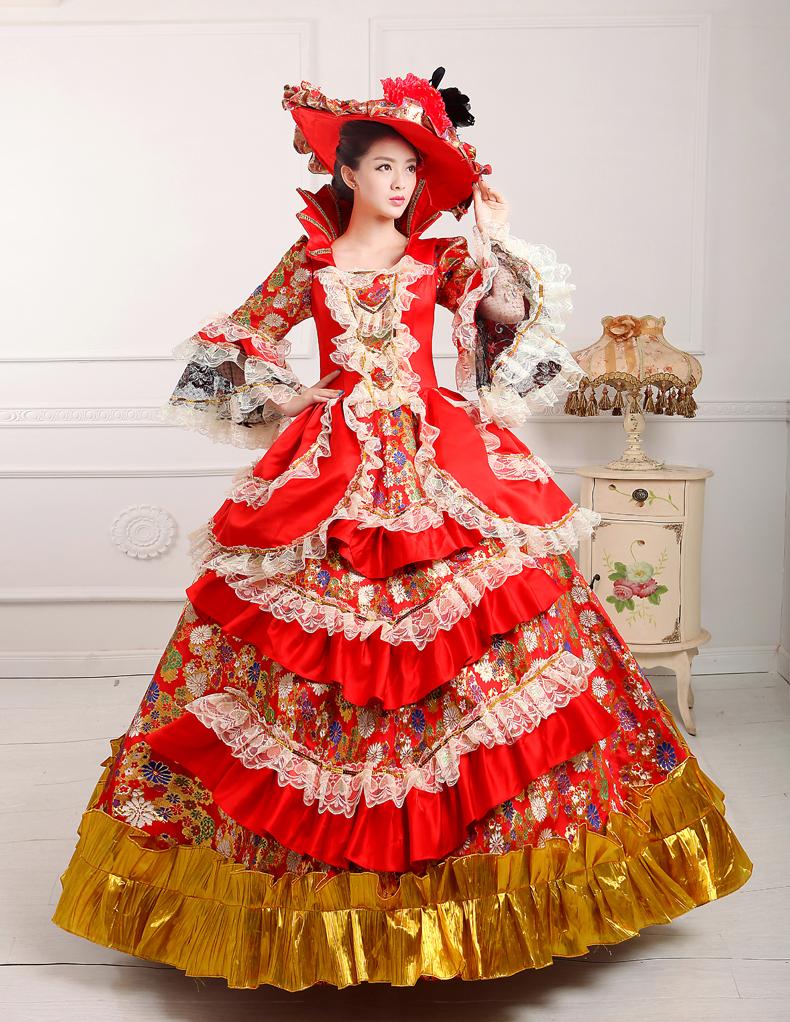0000005d71a Μπαρόκ και ροκοκό στυλ σε μοντέρνα ρούχα.