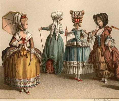 cfcd28b57d8 Το τέλος της εποχής του Μπαρόκ και του Ροκόκου ήταν το 1770ο έτος. Κατά τη  διάρκεια αυτής της περιόδου, το δίκαιο σεξ φορούσε σφιχτό χρωματιστό φόρεμα.