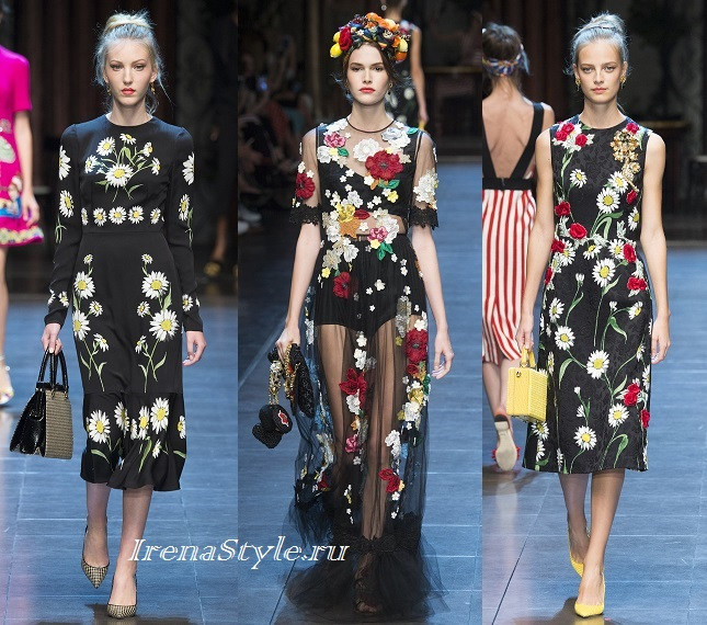 569d0f09212 Módní šaty s potiskem. Jemné a romantické květinové tiskové šaty