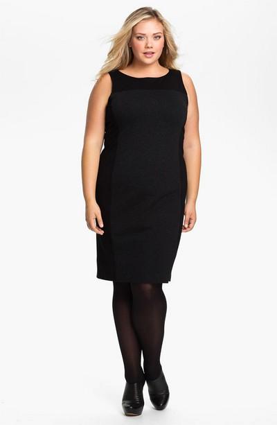 Плаття чорне для повненьких з накидкою рожевої. Плаття для повних ... dd1f1edc4fc95