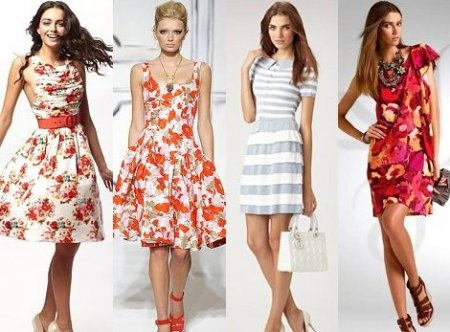 Стильний літній наряд. Сарафани та літні сукні. Фото. 17fedb5aefd72
