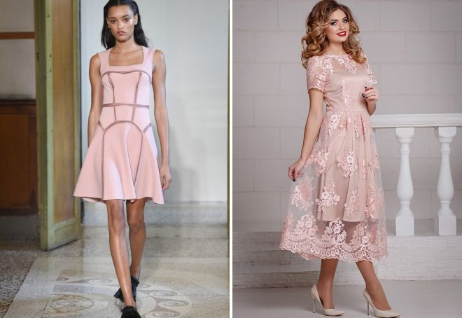 461a0bc35c66 Εικόνες με ροζ φόρεμα. Σύντομο ροζ φόρεμα  τόσο διαφορετικό και κομψό.