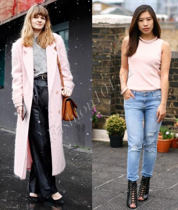 З чим носити рожевий колір  З чим поєднувати рожевий одяг 8c184b4eb2a61