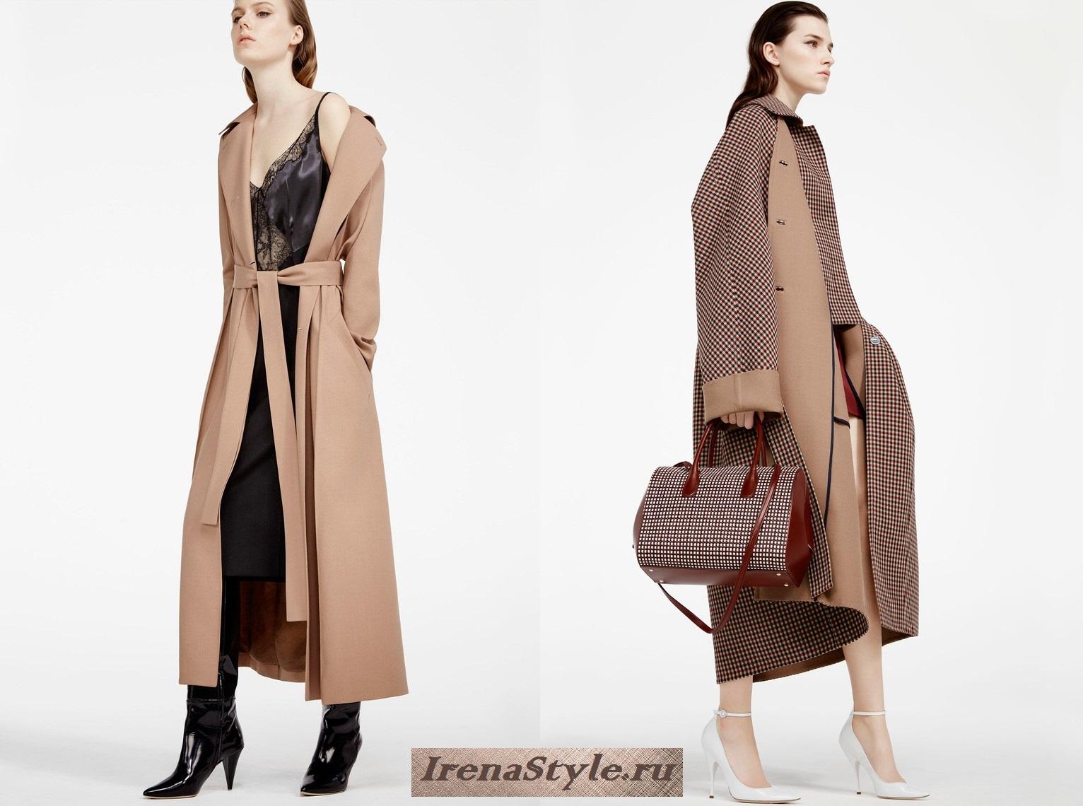 Бежеве пальто підкуповує також можливостями його сполучення з іншими речами  гардероба. Якщо ви додасте в образ білий колір (штани d43a30737d754
