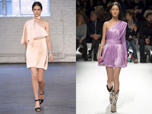 Τα ασυμμετρικά φορέματα που παρουσιάστηκαν στις εμφανίσεις των Badgley  Mischka c27bbe0fc3e