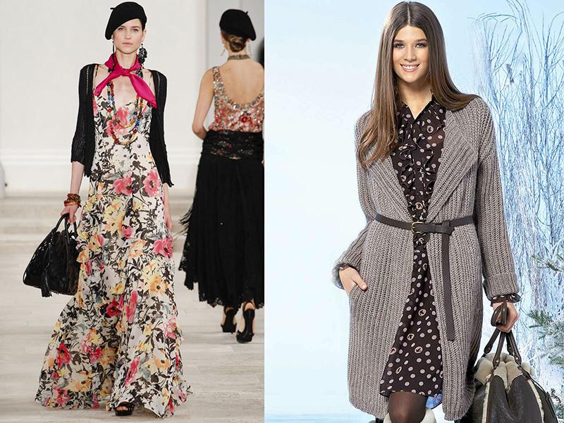 Βραδινό φόρεμα κάτω από το γόνατο με μακριά μανίκια - το καλύτερο ρούχο για  το επίσημο γεγονός. Ένα τέτοιο φόρεμα θα διακοσμήσει μια σάλια σιφόν ή ένα  ... da229b68be9