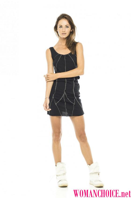 029a2621d6a2 Γκρι πλεκτό φόρεμα με τι να φορέσει. Κομψό και ζεστό γκρίζο πλεκτό ...