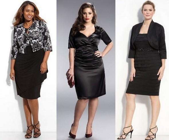 Багато дівчат з округлими формами вибирають ділові сукні для повних в  короткому варіанті b6b788ab8f2f8