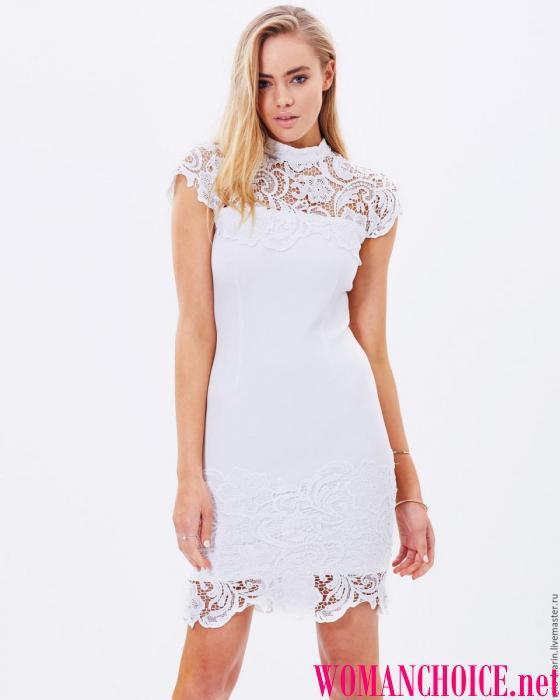Ένα λευκό φόρεμα μπορεί ακόμη και να είναι ένας γάμος γιατί φαίνεται  εκπληκτικό. Έτος ή φόρεμα γοργόνα - μια από τις πιο δημοφιλείς μορφές  φορεμάτων για το ... 7f959516dab