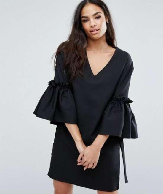 18cf2158d0 Divat ruhák trendek tavasszal. # 8 Puff ruhák. # 2 Nadrág öltöny