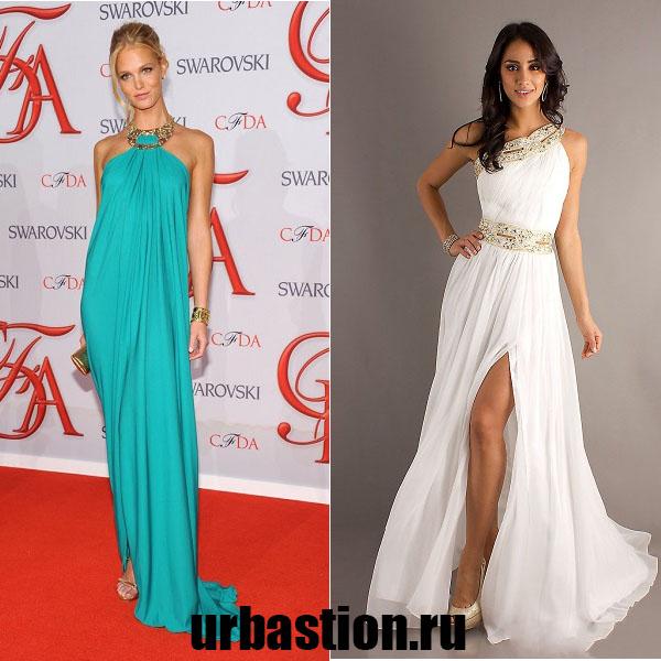 Модний тренд з античної давнини - випускну сукню в грецькому стилі. 511a142dd56eb