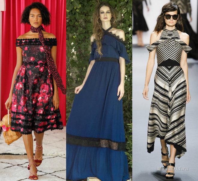 2f32c002f6fa Μια πιο μοντέρνα λεπτομέρεια για τα φορέματα 2017 είναι ρομαντικοί δεσμοί  και τόξα αντί για ιμάντες. Υπογραμμίζουν επίσης τους ώμους και τονίζουν όλη  την ...