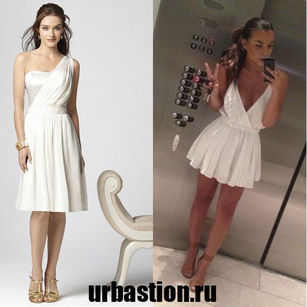 057d95b75dda Οι στιλίστες συνιστούν να διατηρήσετε το ελληνικό στυλ σε ολόκληρη την  εικόνα και όχι μόνο σε ένα φόρεμα. Για παράδειγμα
