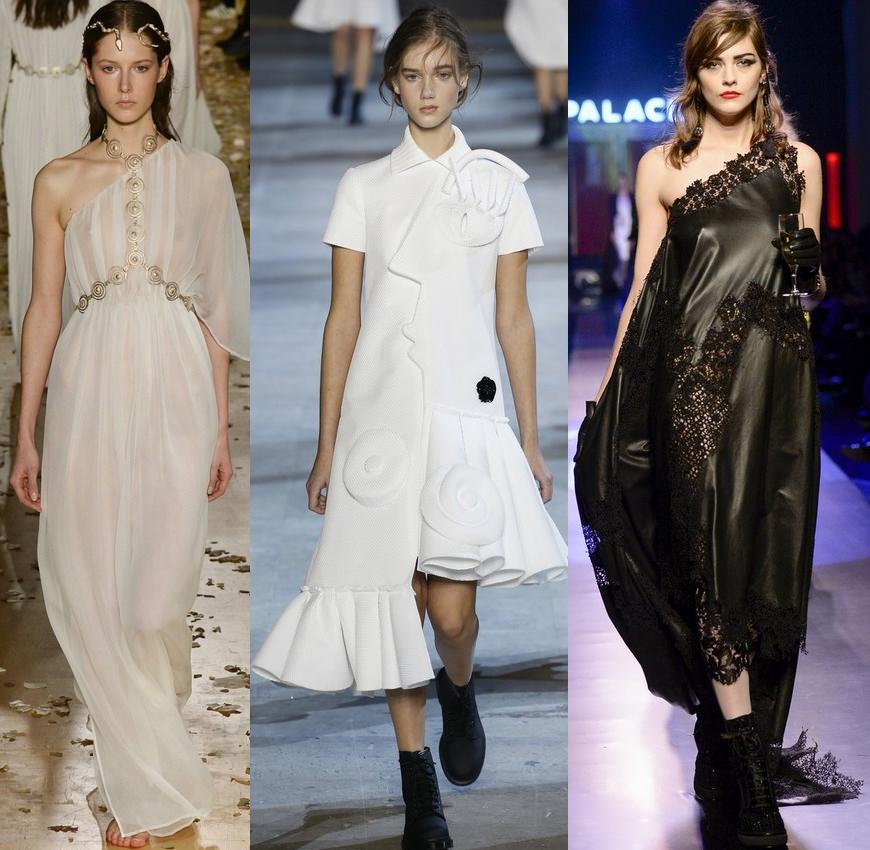 Стильні сукні та модні сукні - кращі фасони. Як носити сукні повним ... 4c6b0f5a9eefc