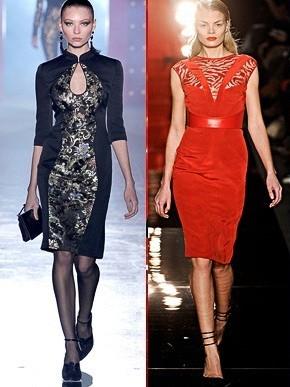 Сучасні сукні «футляр» зайняли почесне місце в нових холодних лініях  Chromat 8680563e70d84