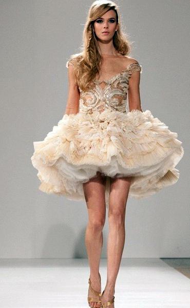cc4f9d3bbcff Μπλε φόρεμα κοντό με πλήρη φούστα. Πώς να επιλέξετε ένα μικρό φόρεμα ...