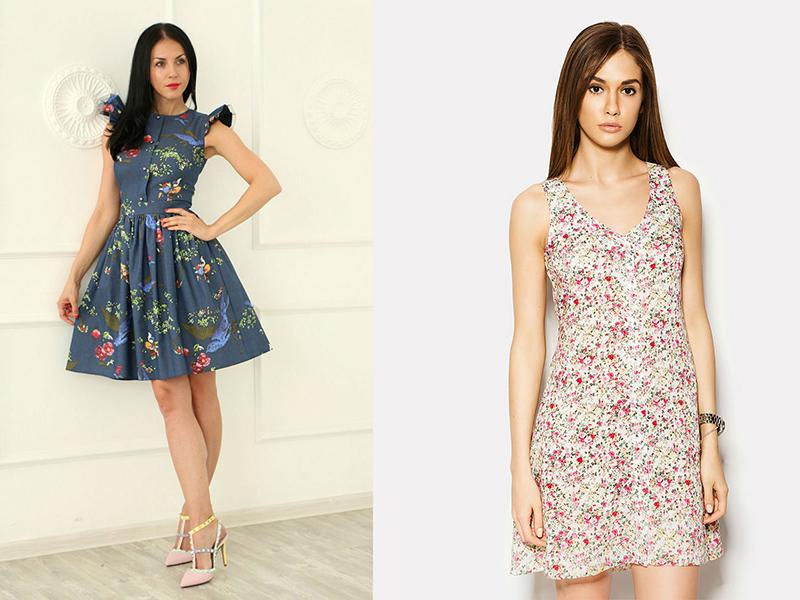 Легкі і ніжні шифонові сукні в квіточку гарні для літа. Яскраві і насичені  наряди 9a367f0e0be22