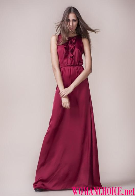 01f98826ea87 Ποιο χρώμα μαλλιών είναι κατάλληλο για μπορντό φόρεμα. Τι αξεσουάρ ...