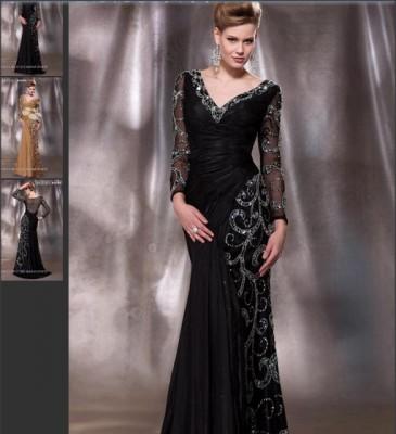 1c6280019619 Νέα γραμμή τάσεις της μόδας - τοποθέτηση μακριών φορεμάτων με φαρδιά  μανίκια. Κατάλληλο για κάθε είδους γιορτές. Αυτά τα φορέματα θα φαίνονται  καταπληκτικά ...