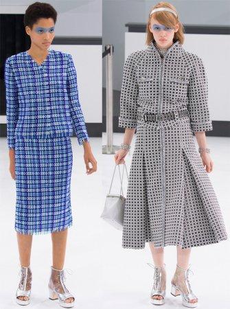 Tweed oblek s šortky z Chanel. Bunda ve stylu Chanel. 4959a70a97