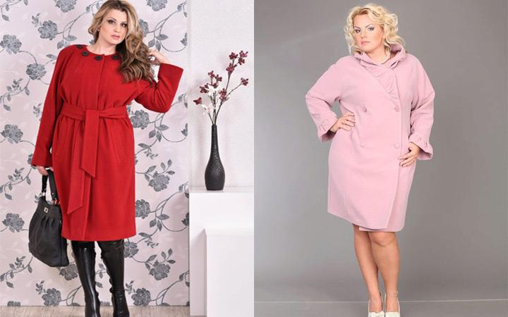 f1caeb708d Az elhízott nők divatja 2018 tavaszán, amint az a képen látható, egyenes  modelleket, A-alakú kabátot, kókuszréteget kínál.
