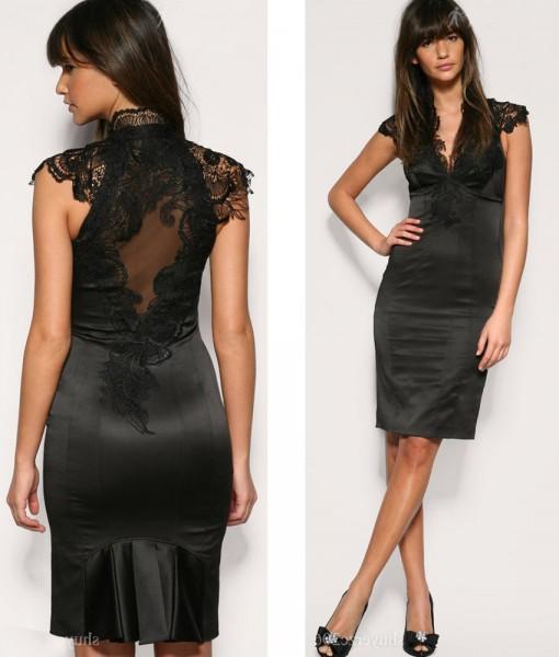 Найкрасивіші сукні короткі. Плаття на вечір. Темно-синє вечірнє плаття c0cd55d4af53d