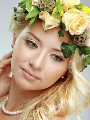 Макияж для девушек цветотипа весна