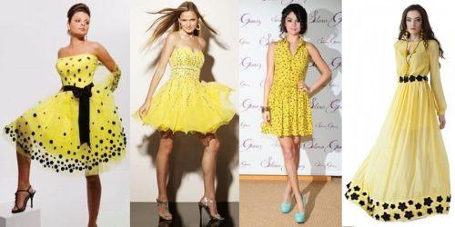 2b9a53359ee6 Όταν το κάνετε είναι η στιγμή να μελετήσετε τι παπούτσια ταιριάζουν στο  κίτρινο φόρεμα