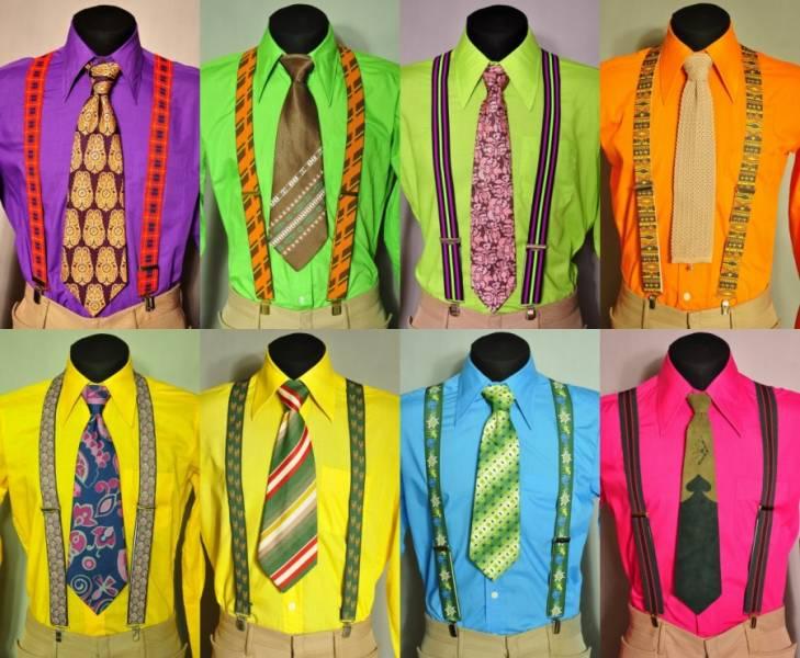 25d5be212b39 Το πουκάμισο θα πρέπει επίσης να ταιριάζει με την εντυπωσιακή εικόνα.  Επιλέξτε τα πουκάμισα από υφάσματα με κορεσμένα χρώματα - κίτρινο