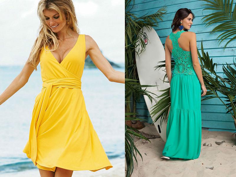 Летние платья на море 137