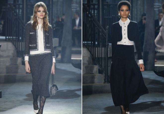 d34a637e21 Dámské obleky od Chanel. Bunda ve stylu Chanel.
