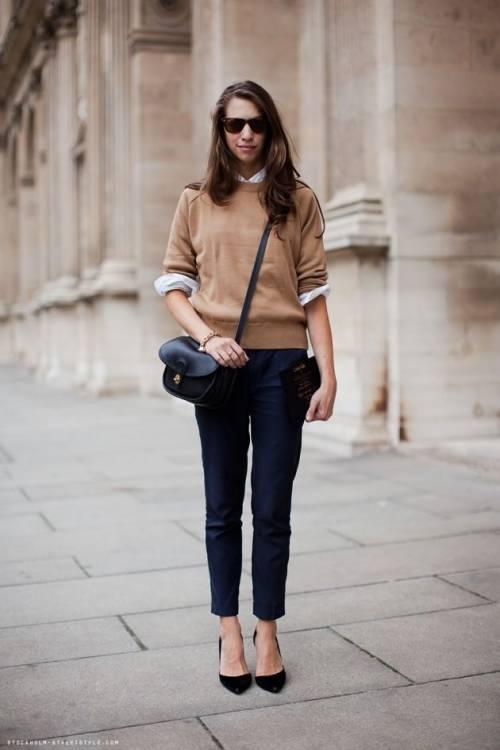 Французький стиль в одязі для жінок  фото d89109e5a13bf
