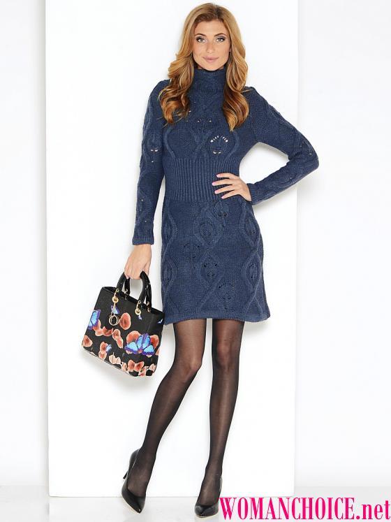 9f768ac6a697 Ρούχα για πλέκω. Μαύρο φόρεμα βελονάκι - δεμένη!
