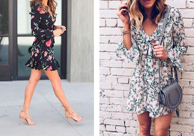 З чим носити квітчасте плаття. Ніжні і романтичні сукні з квітковим ... 9dce71a1e8a30