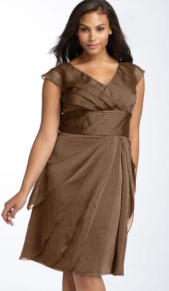984464dbc62c Κοκτέιλ φορέματα για παχύσαρκες γυναίκες. Κοκτέιλ φορέματα για ...