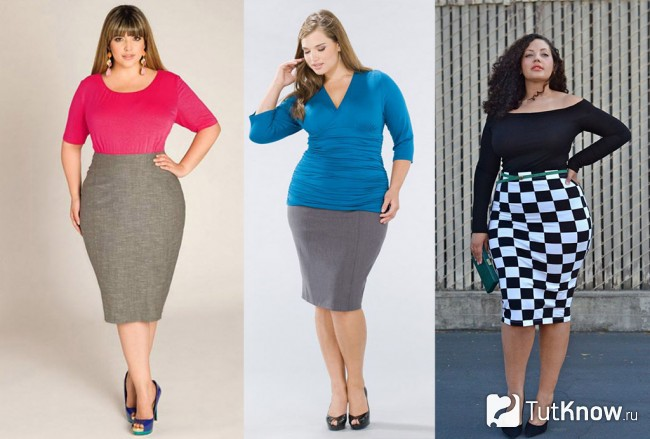 38bff6c4504f Οι πλήρεις γυναίκες της μόδας δεν πρέπει να αποκλείονται και πλεκτές  φούστες