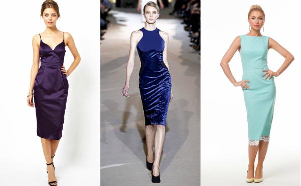 Faktiska bli klänningar med full kjol till knäet. Denna stil hänvisar till  retro 80e11568826c5