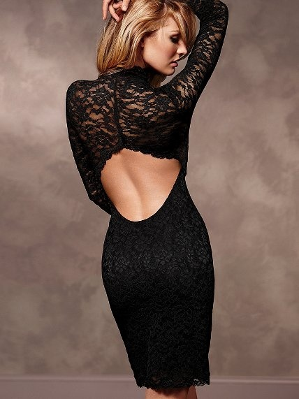 Короткі сукні з відкритою спиною фасони. Як підібрати нижню білизну ... e70dc8083f4c7