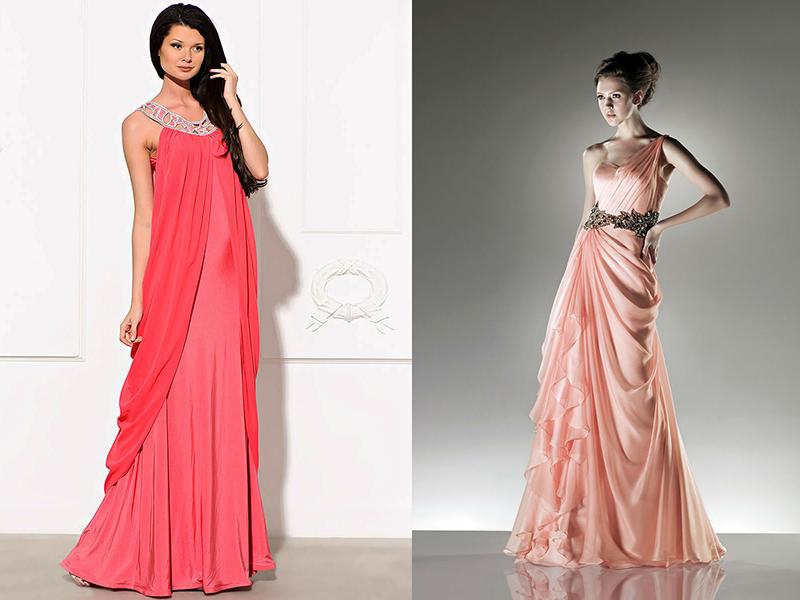 Šaty korálové barvy pro plné. Coral otevřené maxi šaty. Korálové ... 8d8bc8b269
