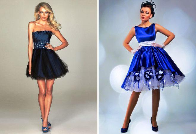 ed07fdc61607 Λευκό-μπλε φόρεμα με τι να φορέσει. Το μπλε φόρεμα είναι μια ...