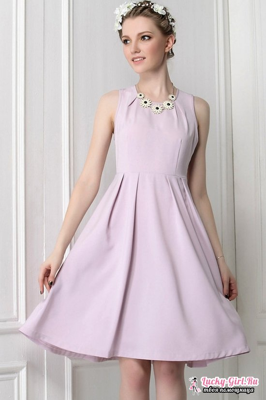 13ef48d6f7ae Ράψτε ένα φόρεμα που κρύβει την κοιλιά. Μοντέλα φορέματα με υψηλή ...