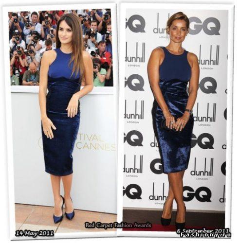 04ada547b0cf Το χρώμα των σανδαλιών κάτω από το μπλε φόρεμα επιλέγεται με την ίδια αρχή  με τα παπούτσια. Ο κύριος συνδυασμός στυλ φόρεμα και σανδάλια.