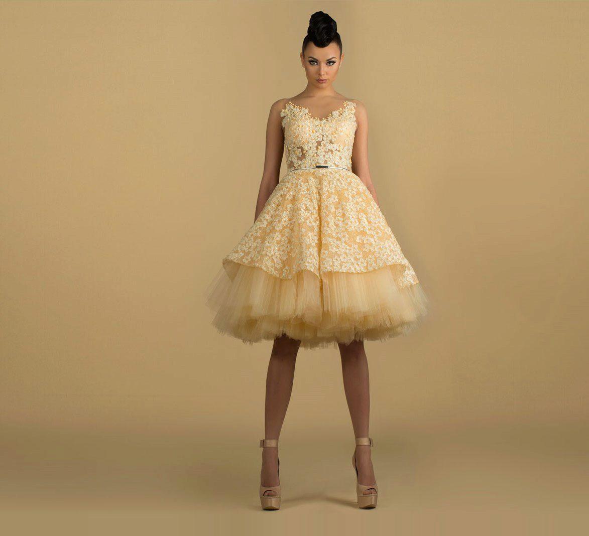 Туфлі до жовтого сукні. Жовте вечірнє плаття  особливості вибору. b9ccd5532c0c5