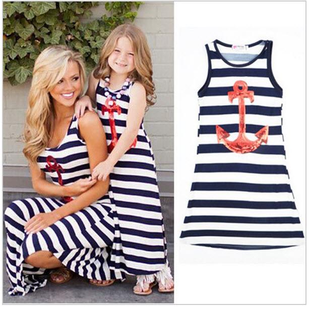 Святкові сукні для мам і дочок. Плаття на маму і доньку. 24c1db9532311
