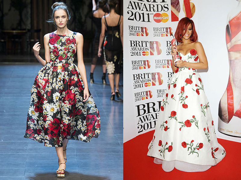 Вишукані сукні з забарвленням «в квіточку» повинні бути в гардеробі кожної  з нас. Вони омолоджують 7fdebe6b1fcb2