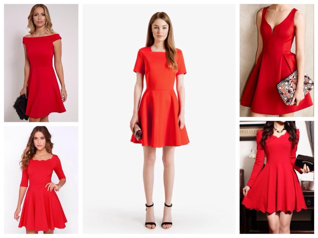 dbbb06a7246 Όμορφη ξανθιά σε κόκκινο φόρεμα. Πολυτελές φόρεμα - αξιόλογοι ...